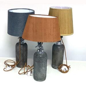 Vintage Soda Syphons Lamps