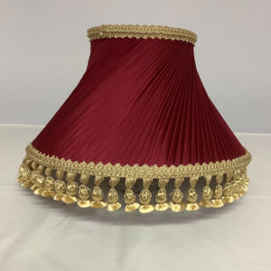 Swirl Pleat with French Knott Lampshade