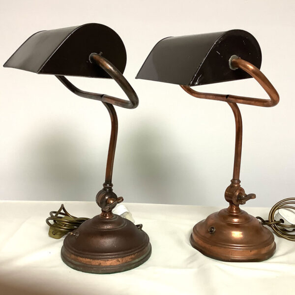 Vintage 1930s Desk Lamps