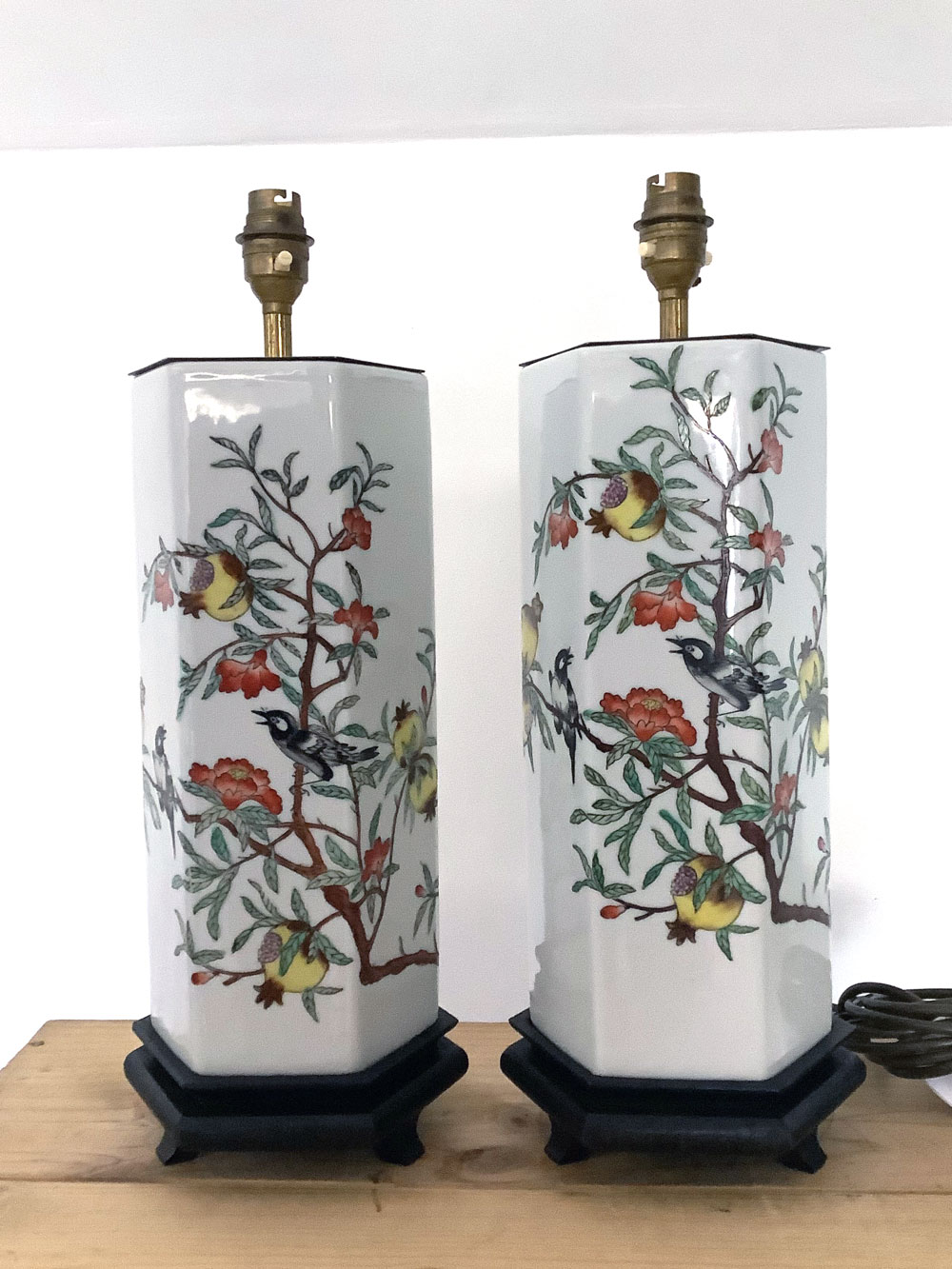 Pair of Vintage Chinese Style Lamps