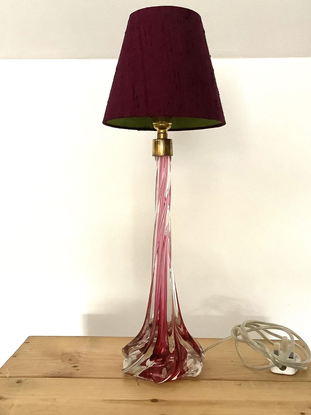 Vintage Murano Slender Lamp